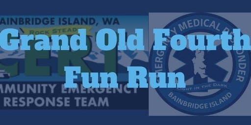 BIEMR + BICERT:    The Grand Old 4th Fun Run Volunteer