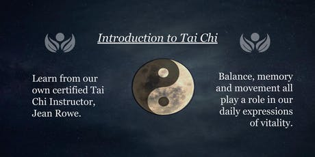 Intro to Tai Chi tickets