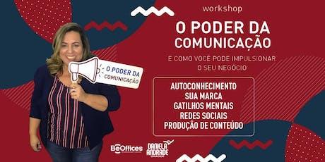 Workshop O Poder da Comunicação - Turma 11 ingressos