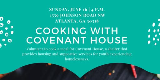 Cooking for Covenant House
