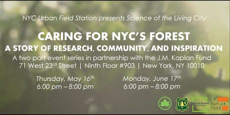 Caring for NYC's Forest: a Story of Research, Community, and Inspiration tickets