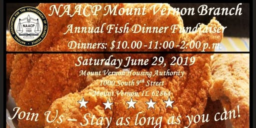 NAACP Annual Fish & Spaghetti Dinner