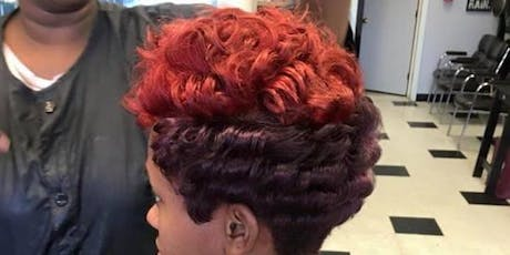 Mink Luxe Signature Cut 'n Color (1/2 Off Color) and Throwback Press 'n Curl $35 tickets