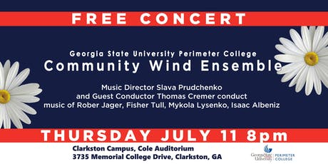 Free Concert by GSU Perimeter Community WInd Ensemble tickets