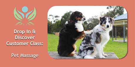 Pet Massage tickets