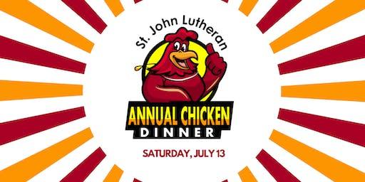 St John Lutheran's 3rd Annual Chicken Dinner