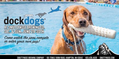 Dock Dogs at Smuttynose Brewery
