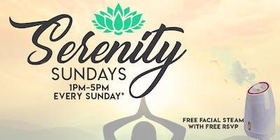 Serenity Sundays   Mobile Pamper Services, FREE Facial Steams + Vendor Shop
