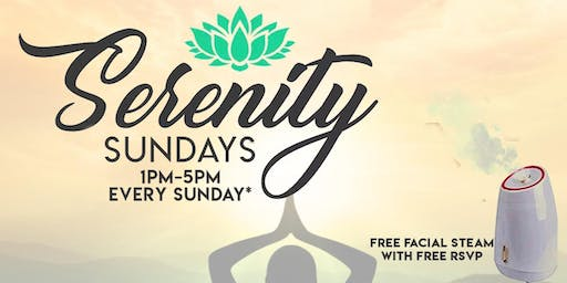 Serenity Sundays | Mobile Pamper Services, FREE Facial Steams + Vendor Shop