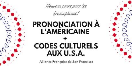 Pour les francophones: prononciation à l'américaine + codes culturels aux U.S.A. billets