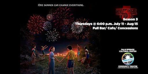 Stranger Things Season 3 Free Community Screening