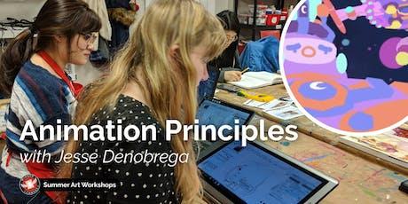 Animation Principles Workshop with Jesse DeNobrega tickets