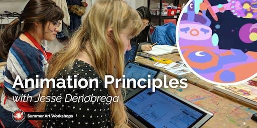 Animation Principles Workshop with Jesse DeNobrega