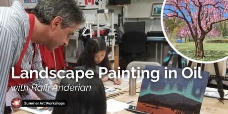 Landscape Painting in Oil Workshop with Raffi Anderian tickets