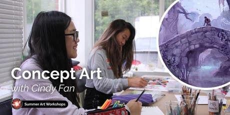 Concept Art Workshop with Cindy Fan tickets