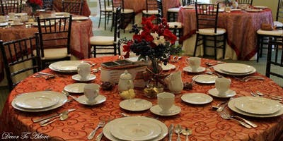Grand Victorian Tea Reception