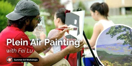 Plein Air Painting Workshop with Fei Lu tickets