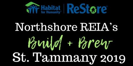 St Tammany Build + Brew 2019 (Community Event) tickets
