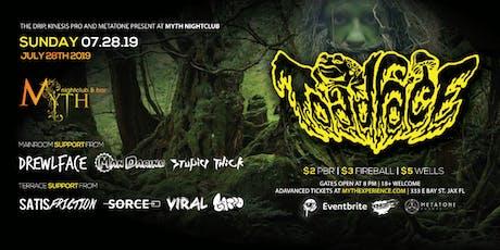 The Drip & Metatone Present TOADFACE at Myth Nightclub   Sunday 07.28.19 tickets