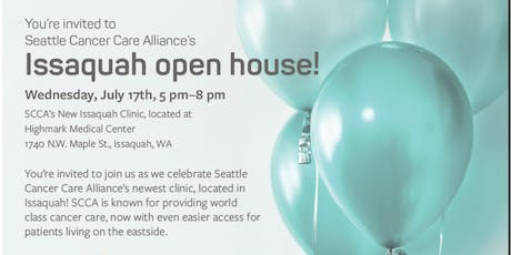 Seattle Cancer Care Alliance Issaquah Open House tickets