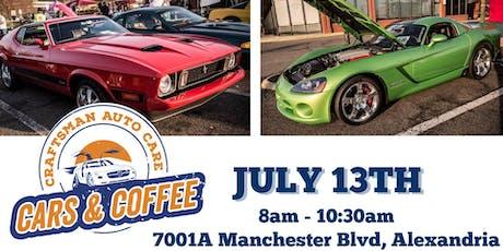 Cars & Coffee - Craftsman Auto Care tickets
