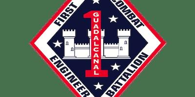 1st Combat Engineer Battalion USMC Ball - ESC
