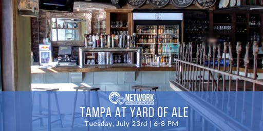 Network After Work Tampa at Yard Of Ale