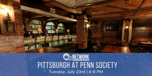 Network After Work Pittsburgh at Penn Society