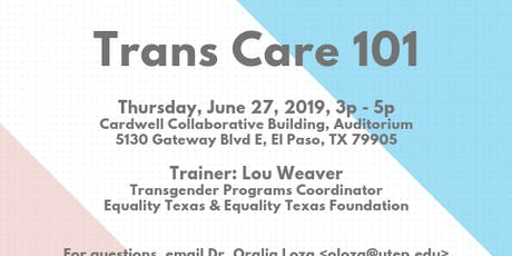 Trans Care 101 tickets