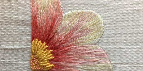 Stitching with Liz & Helen.....Silk Shading  tickets
