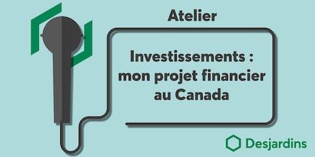 Atelier : Investir au Canada tickets