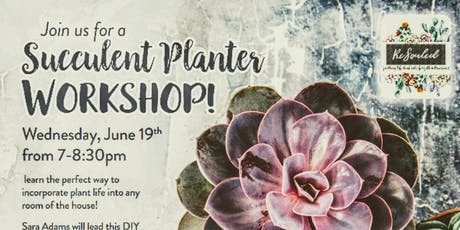 Succulent class at Fresh Thyme Market tickets