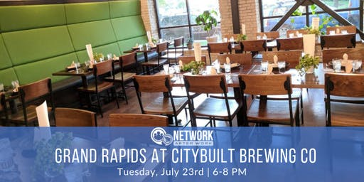 Network After Work Grand Rapids at Citybuilt Brewing Company