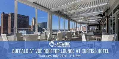 Network After Work Buffalo at VUE Rooftop Lounge at Curtiss Hotel