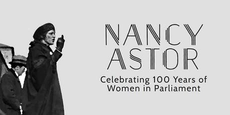 Community art workshop for the making of the Nancy Astor statue  tickets