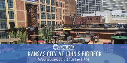 Network After Work Kansas City at John's Big Deck