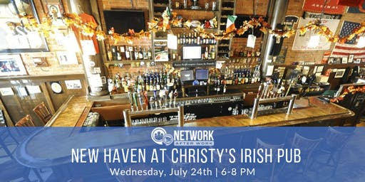 Network After Work New Haven at Christy's Irish Pub