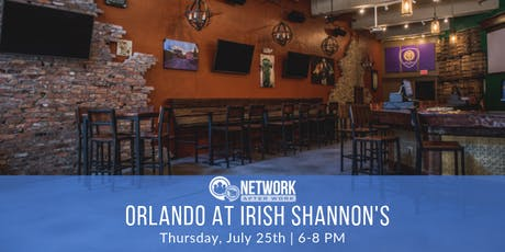 Network After Work Orlando at Irish Shannon's tickets