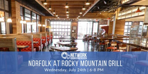 Network After Work Norfolk at Rocky Mountain Grill
