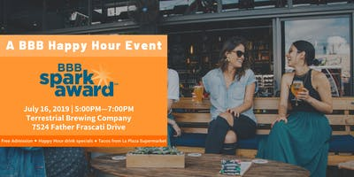 BBB Happy Hour: Spark Award Launch Party