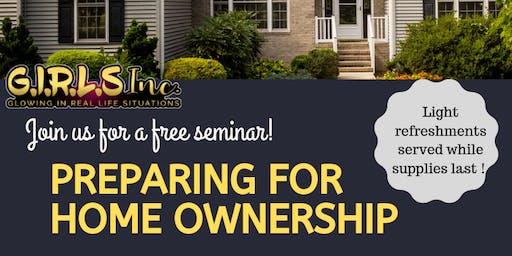 Preparing For Homeownership