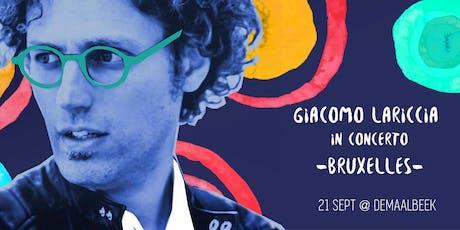 Giacomo Lariccia tickets