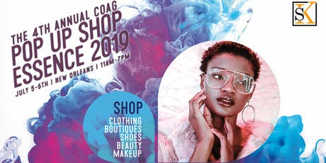 COG 4th Annual Essence Festival Popup Shop tickets