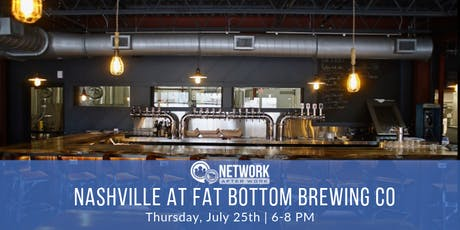 Network After Work Nashville at Fat Bottom Brewing Co. tickets