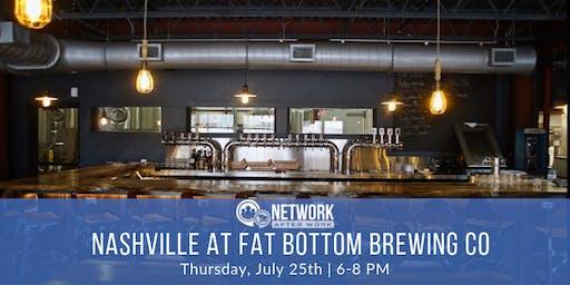 Network After Work Nashville at Fat Bottom Brewing Co.