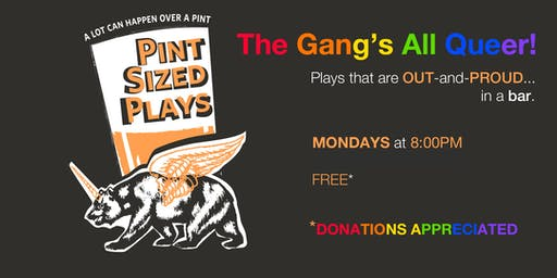 PianoFight's Pint Sized Plays: The Gang's All Queer