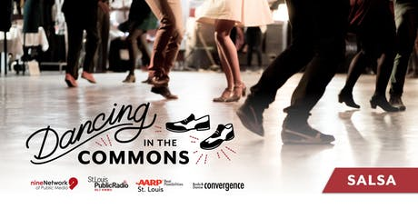Dancing in the Commons | Salsa | July 2019  tickets