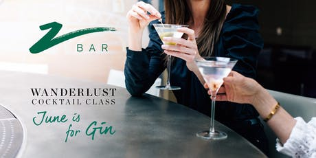 Wanderlust - June is for Gin tickets