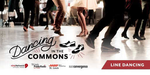 Dancing in the Commons | Line Dancing | August 2019