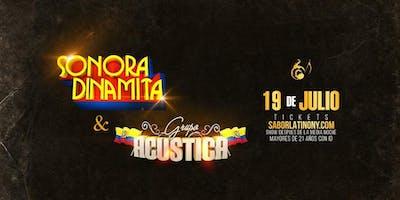 Grupo Acustica & HMN. Sonora Dinamita